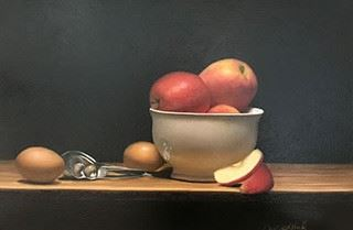 Image of apples in a bowl